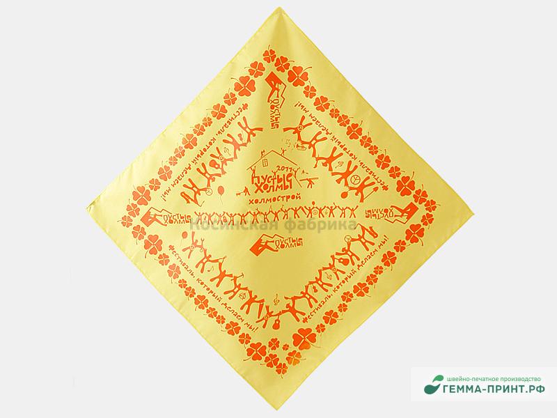 изготовление бандан с логотипом